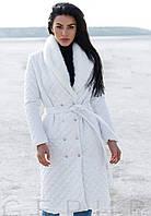 Женское осеннее пальто на кнопках-4 цвета S M L XL 2XL 3XL