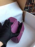 Сумка Дольче Габбана Miss Sicily, натуральная кожа, мини, в баклажановом цвете, фото 9