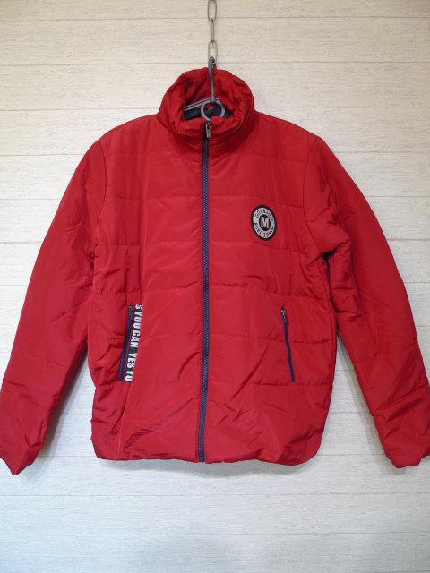 Куртка женская демисезонная красная