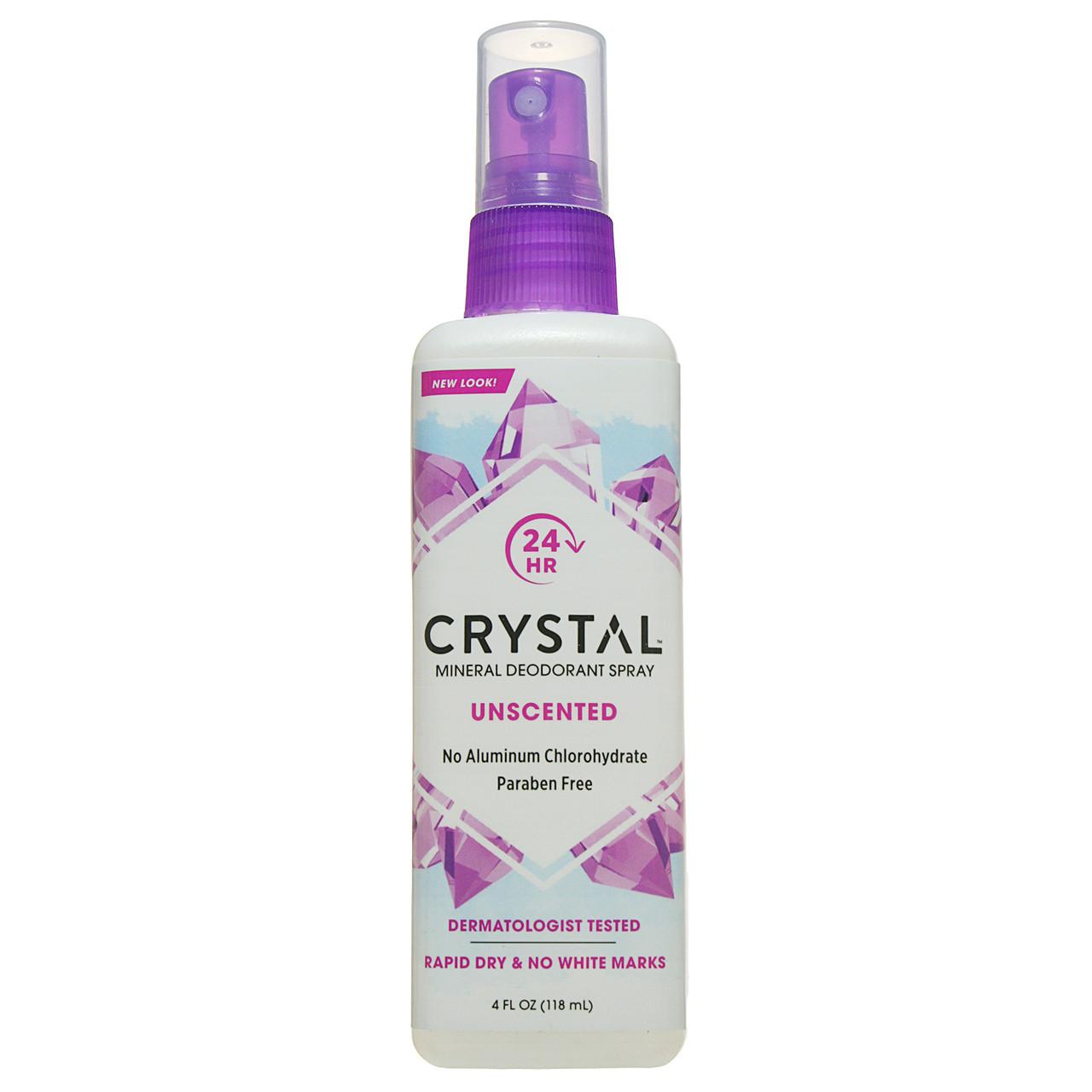 Дезодорант-спрей для тела Кристалл, 118 мл