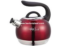 Чайник со свистком Barton Steel 3304