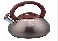 Чайник со свистком Barton Steel 3301