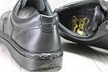 Мужские кожаные лёгкие туфли на шнурках Tigina комфорт, фото 3