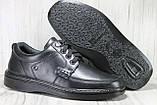 Мужские кожаные лёгкие туфли на шнурках Tigina комфорт, фото 6