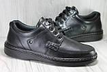 Мужские кожаные лёгкие туфли на шнурках Tigina комфорт, фото 2