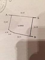 Продам земельну ділянку в Хрінниках 20 соток біля води,перша лінія