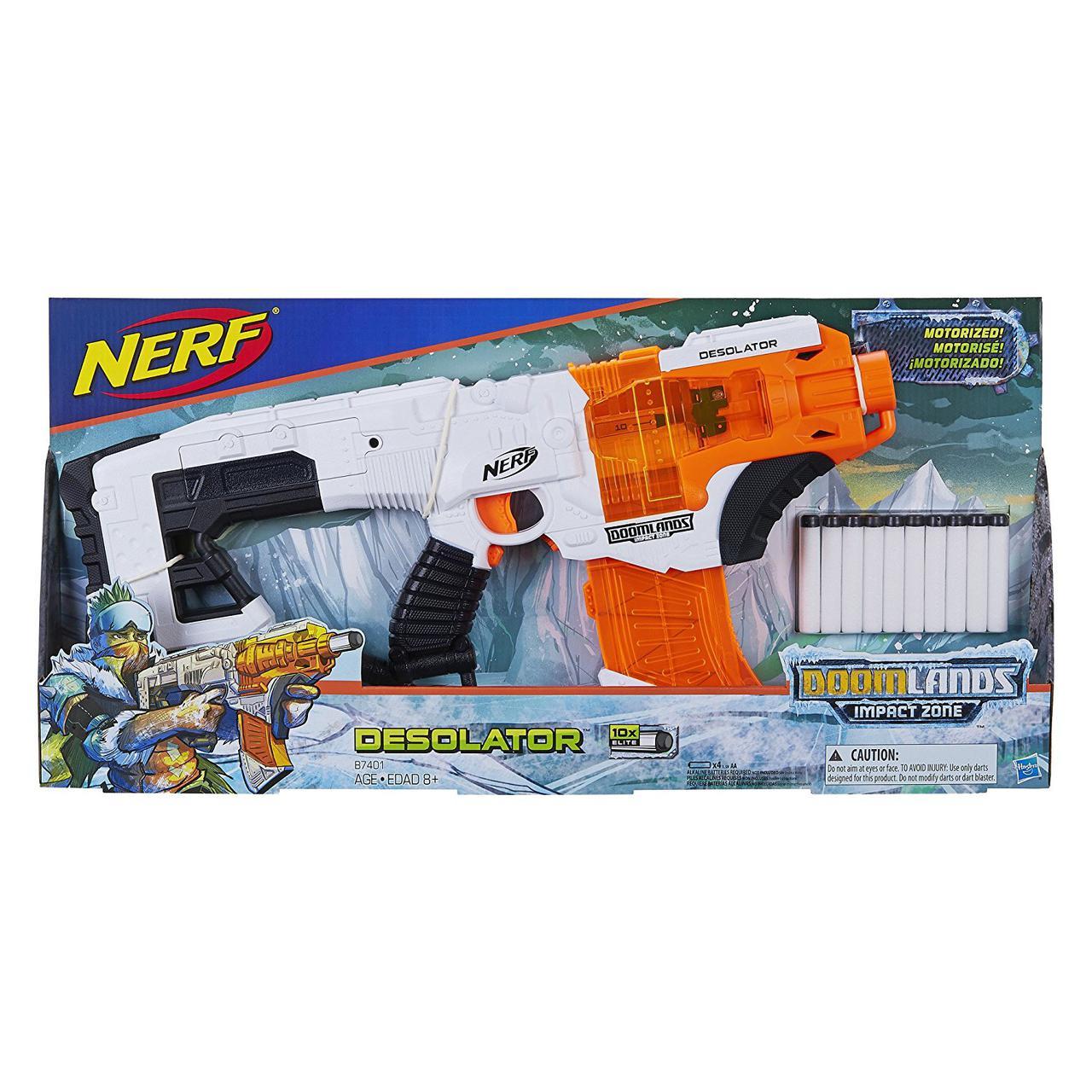 Бластер Nerf Думлэндс Опустошитель Doomlands Impact Zone DesolatorNerf