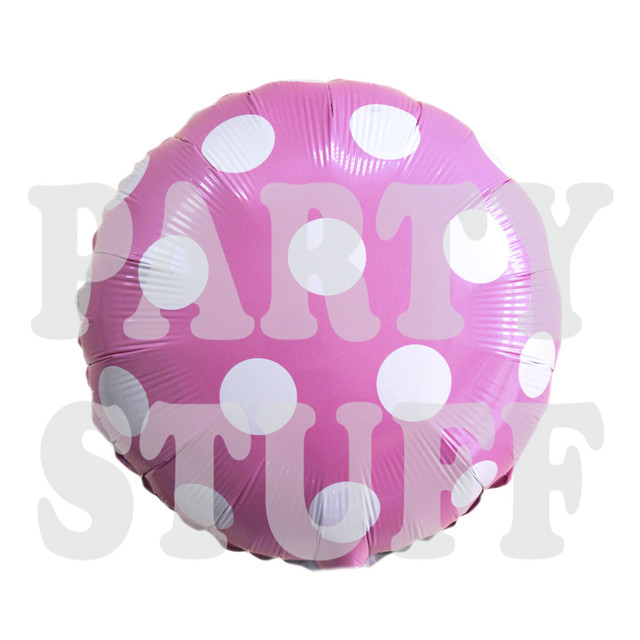 круглый шар розовый
