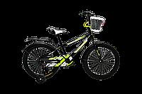 """Велосипед Titan детский 18"""" BMX black-white-yellow (18TCK18-100-2)"""