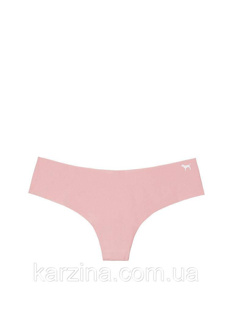 Безшовные трусики стринги Victoria's Secret PINK No Show Thong р.М