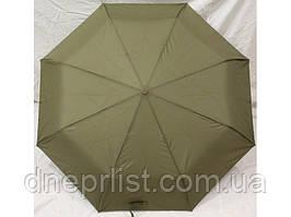 Зонт автомат однотонный антиветер, оливковый / MAX