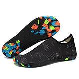 Обувь для пляжа и кораллов Diving shoes черные 40 (255mm), фото 2