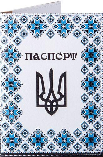 Стильная мужская обложка для паспорта PASSPORTY (ПАСПОРТУ) KRIV131