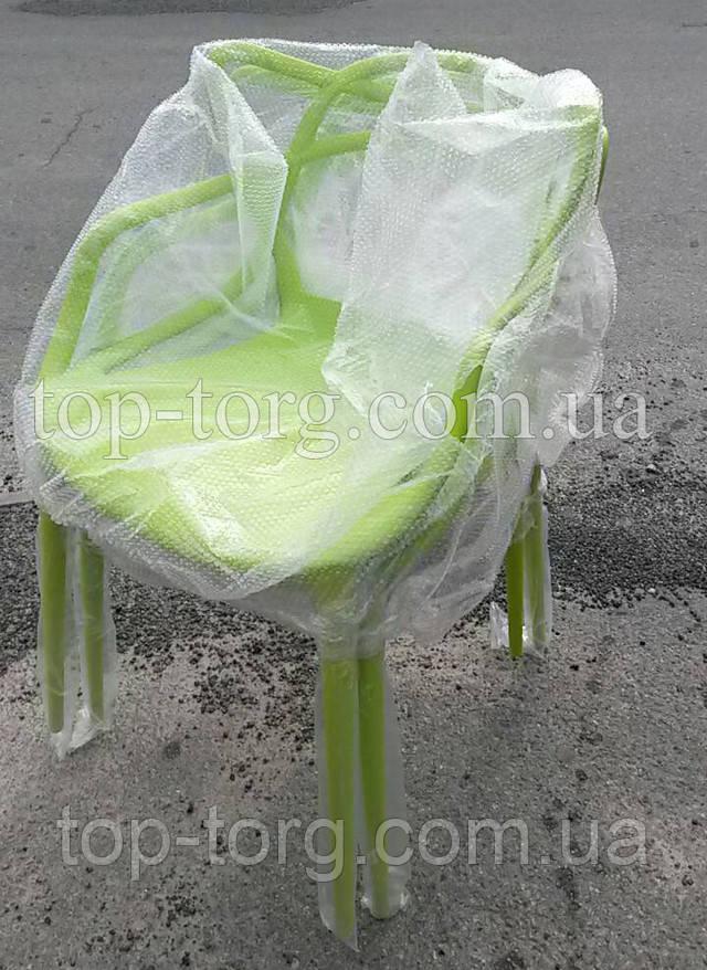 Фото Стул Masters Мастерс зеленый салатовый pp-601 Flower green пластиковый полипропилен