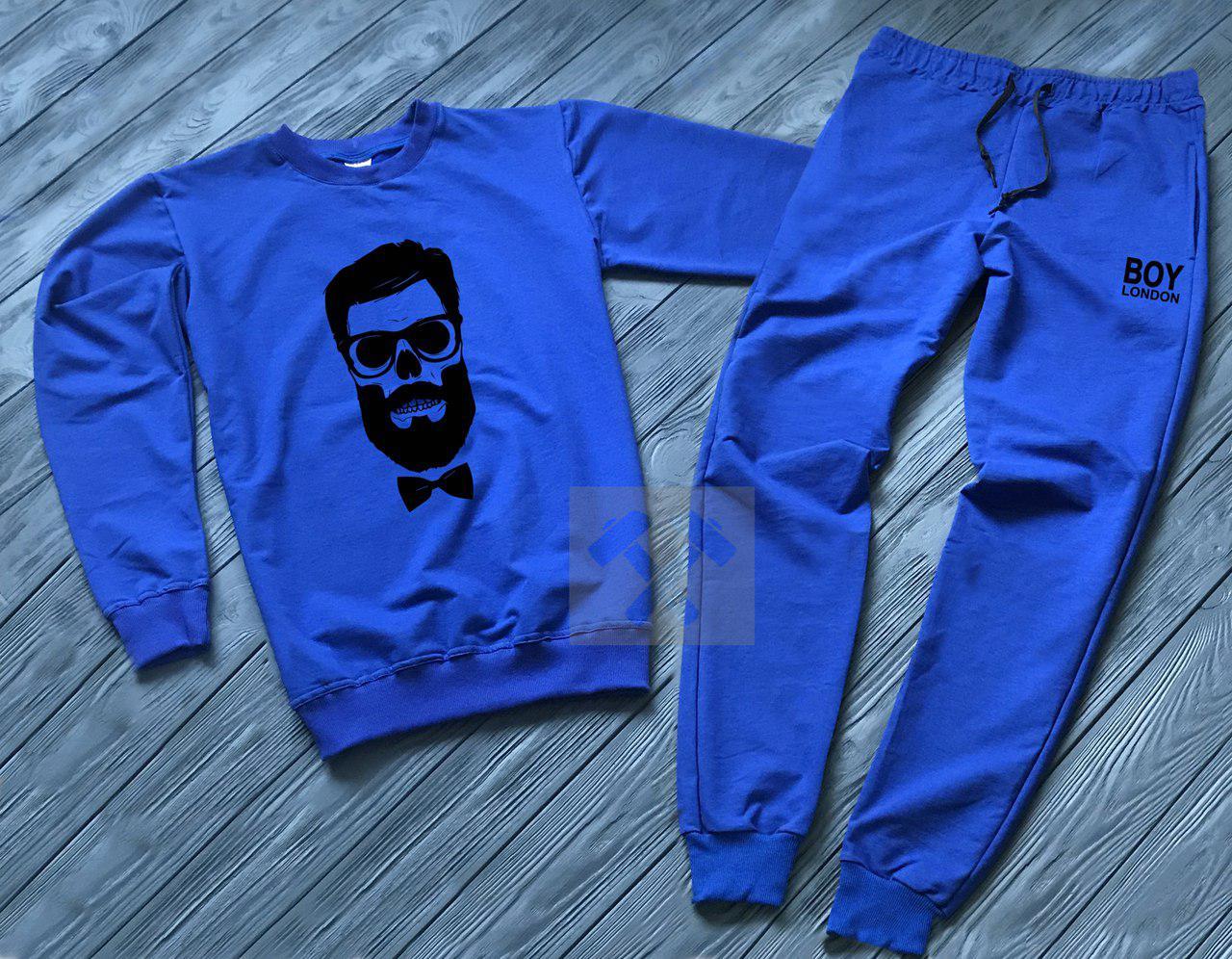 Спортивный костюм без молнии Boy London синий топ реплика
