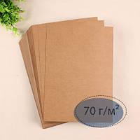Бурая крафт бумага высшего качества А1, 100 листов