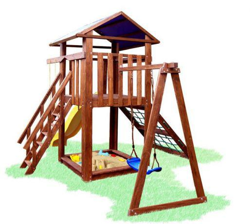 Детские домики, горки, качели, палатки детские