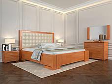 Кровать с механизмом Arbordrev Амбер квадраты (Сосна), фото 2