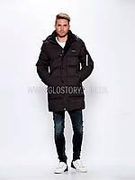 Мужская удлиненная куртка в трех цветах, Glo-Story
