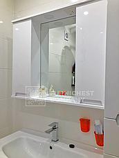 Мини-комплект мебели для ванной комнаты Марко 85-Т-11 с зеркальным шкафом Z-11-85 Юввис, фото 3