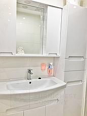 Мини-комплект мебели для ванной комнаты Марко 85-Т-11 с зеркальным шкафом Z-11-85 Юввис, фото 2