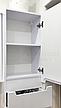 Мини-комплект мебели для ванной комнаты Марко 85-Т-11 с зеркальным шкафом Z-11-85 Юввис, фото 5