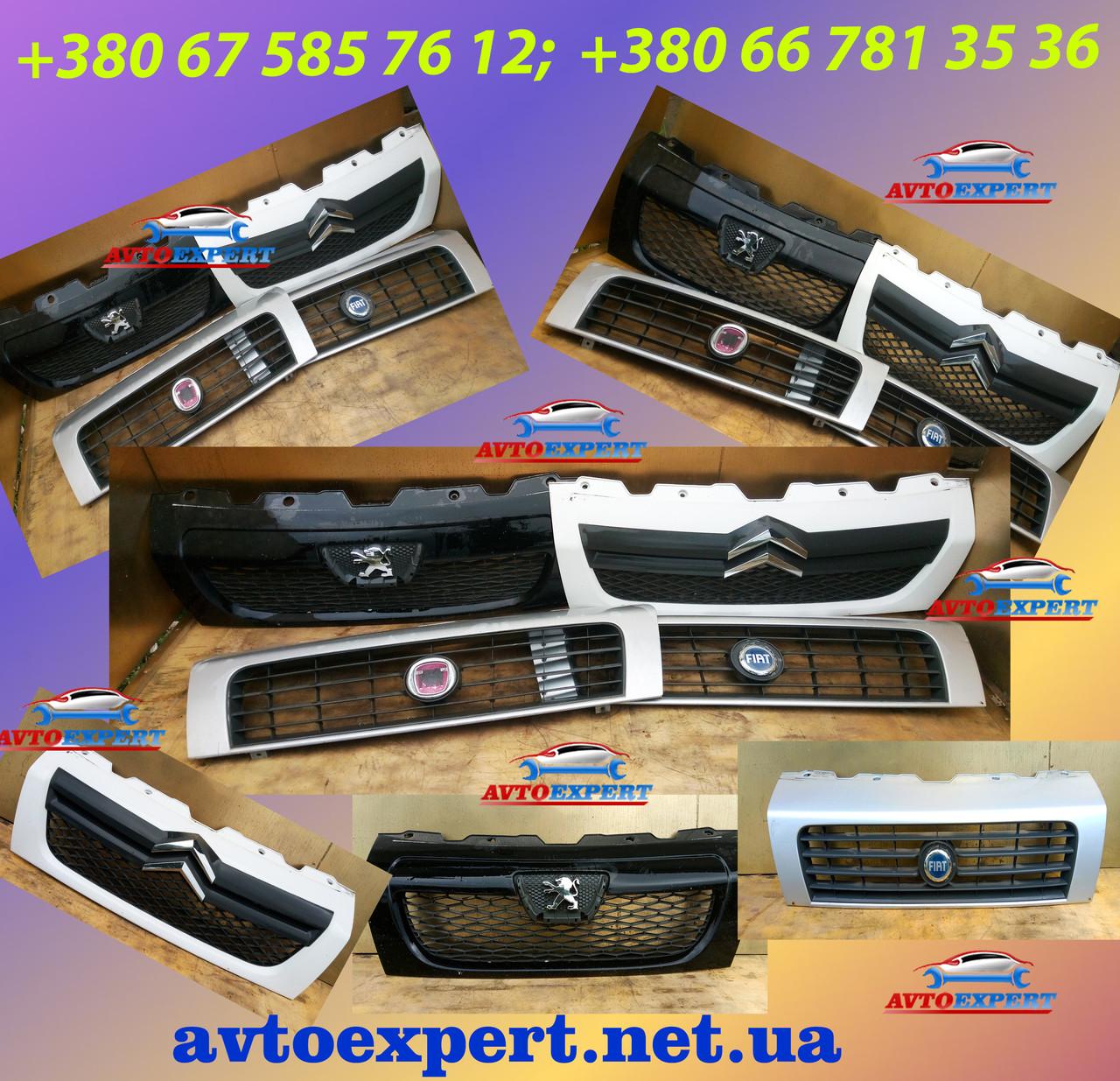 Решетка радиатора решітка Peugeot Boxer Пежо Боксер 2006-