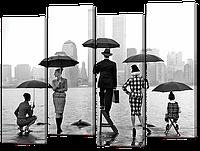 "Модульная картина ""Вид на Нью-Йорк"""