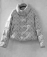 Куртка женская короткая белая, фото 1