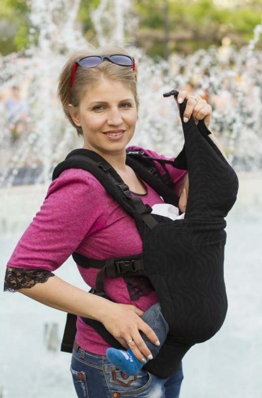 Слинг-рюкзак из шарфовой ткани, Di Sling