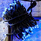 Гірлянда НИТКА 10м, колір синій, фото 6