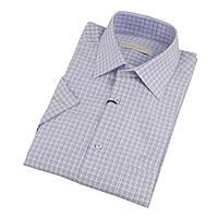 Классическая мужская рубашка с коротким рукавом размер M