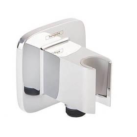 Hansgrohe Fixfit Porter E 26485000 шланговое подсоединение с держателем для лейки
