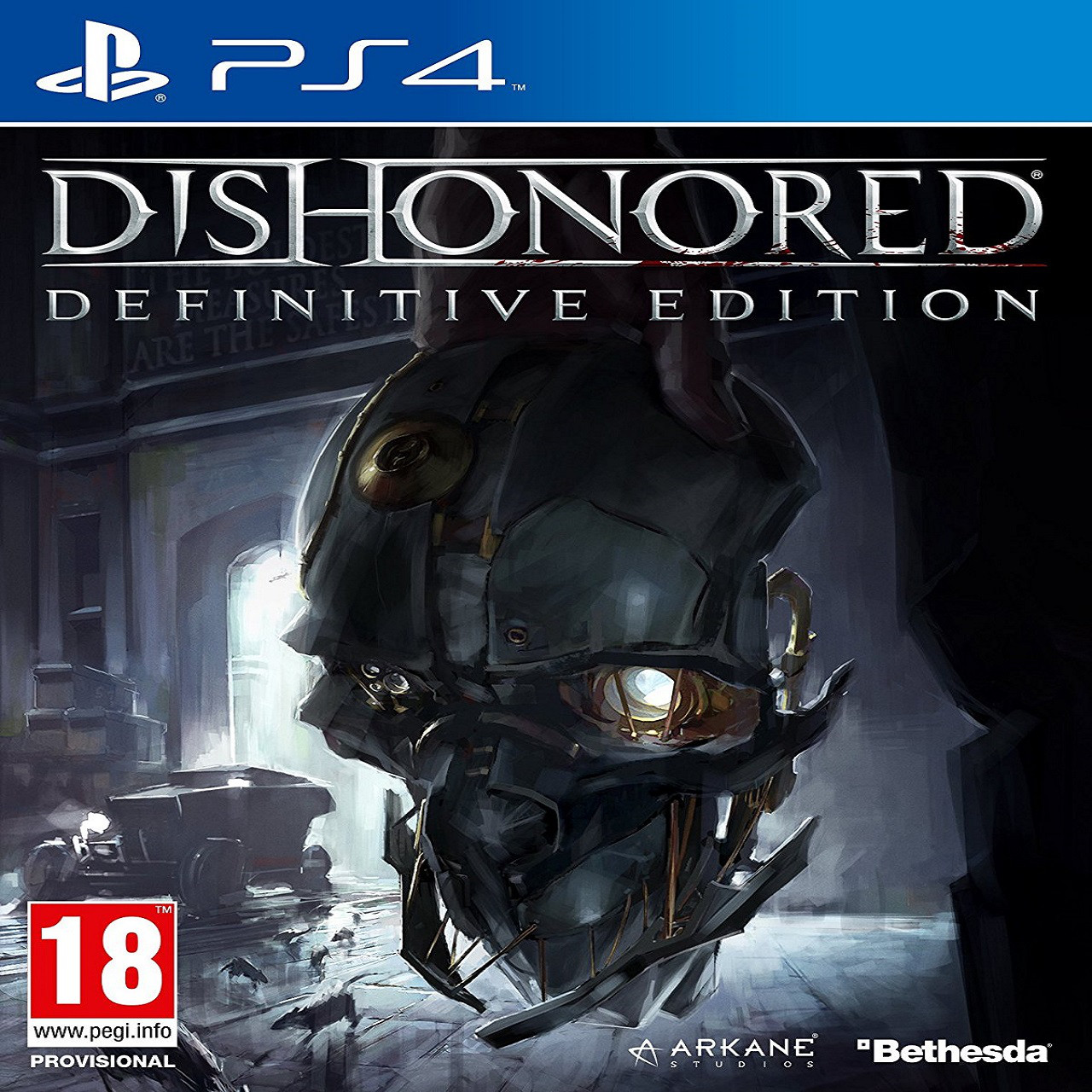 Dishonored Definitive Edition RUS PS4 (Б/В)