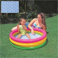 Детский надувной бассейн Intex, 58924 Радуга(86x25см)