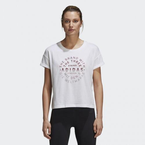 Женская футболка Adidas Performance Emblem (Артикул: DJ1601)