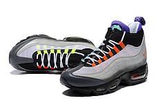 "Зимние кроссовки Nike Air Max 95 Sneakerboot ""Neon"" (Неон), фото 2"