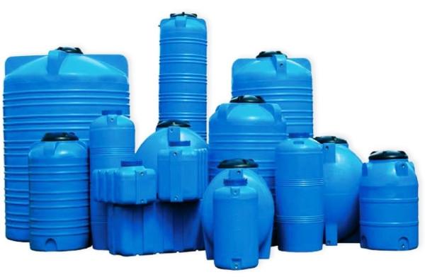 Пластиковые емкости и баки для воды, химикатов или топлива