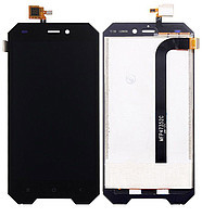Дисплей (экран) для Blackview BV4000/BV4000 Pro с сенсором (тачскрином) черный