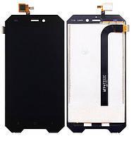 Дисплей (экран) для Blackview BV4000/BV4000 Pro с сенсором (тачскрином) черный, фото 2