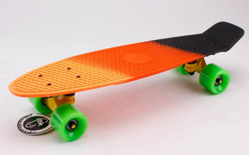 Скейт Пенни борд Penny Board Пенні Fish Skateboards 22 - SUN-SKY 57 см Soft-Touch
