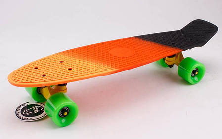 Скейт Пенни борд Penny Board Пенні Fish Skateboards 22 - SUN-SKY 57 см Soft-Touch, фото 2