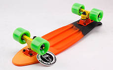 Скейт Пенни борд Penny Board Пенні Fish Skateboards 22 - SUN-SKY 57 см Soft-Touch, фото 3
