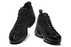 """Зимние кроссовки Nike Air Max 95 Sneakerboot """"Black"""" (Черные), фото 3"""