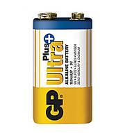 Батарейка GP 1604AUP-S1 Ultra Plus Alkaline 6LF22 9V крона (трей)