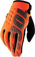Детские зимние мото перчатки BRISKER 100% Cold Weather [Cal-Trans], YL (7)