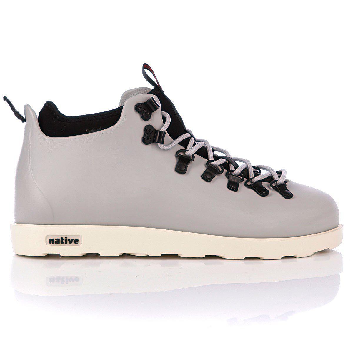 """Зимние ботинки Native Fitzsimmons """"Pigeon Grey"""" (Серые)"""