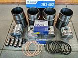 Гильзо-поршневой комплект ГАЗ 24, Газель 402 (Мотордеталь), фото 3