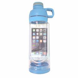 Спортивна пляшка для води і телефону SO-KID Н-606 400 мл Blue
