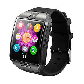 Смарт часы Smart Watch Q18 (Bluetooth 3.0, камера, 500 mah, MTK 6260, 64m/64m, IPS1.54, 2mpx) black